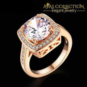 Double Fair Engagement Ring Rings