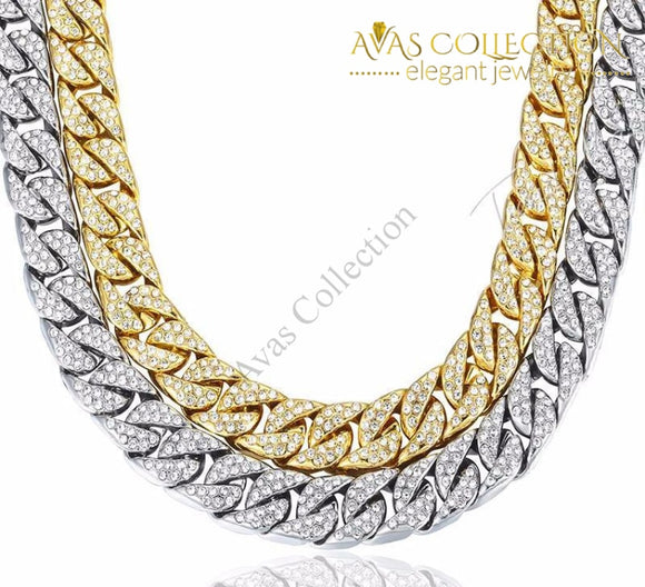 Iced Out Chain/ Bracelet Chain Necklaces