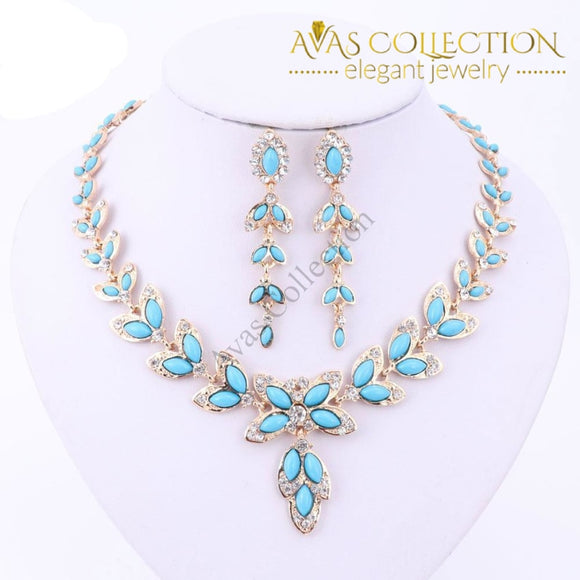 Leaves Shape Jewelry Set Sets