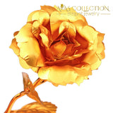 24K Gold Rose Flower Artificial & Dried Flowers