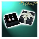 1 Carat Simulated Diamond Round Cut 925 Sterling Silver Dangle Earrings Jewelry