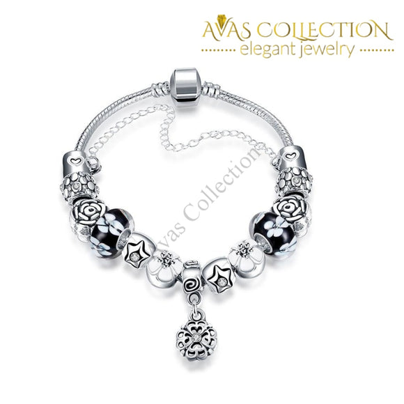 London Inspired Classic Pandora Bracelet Made With Swarovski Elements