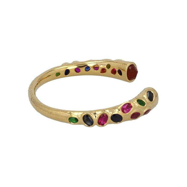 The Mother Open Bangle in 14K Gold