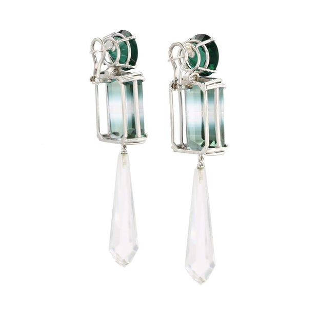 Adore Adorn Earrings Crystal Briolets Gemstone Earring