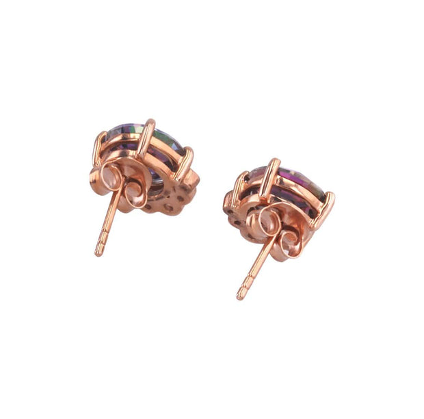 Adore Adorn Earrings Majestic Studded Earrings in Rose Gold