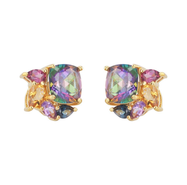 Adore Adorn Earrings Mystique Studded Earrings in 14K Gold