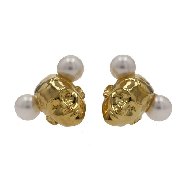 Adore Adorn Earrings TWINS Earrings - 14K Gold / Fresh Water Pearls