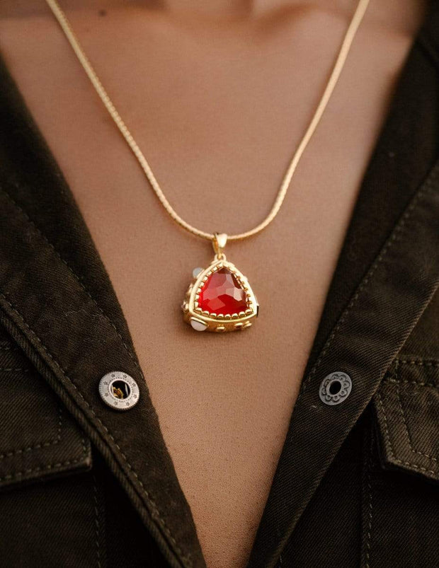 "Adore Adorn Necklace 27.5"" Pac Necklace in 14K Gold"