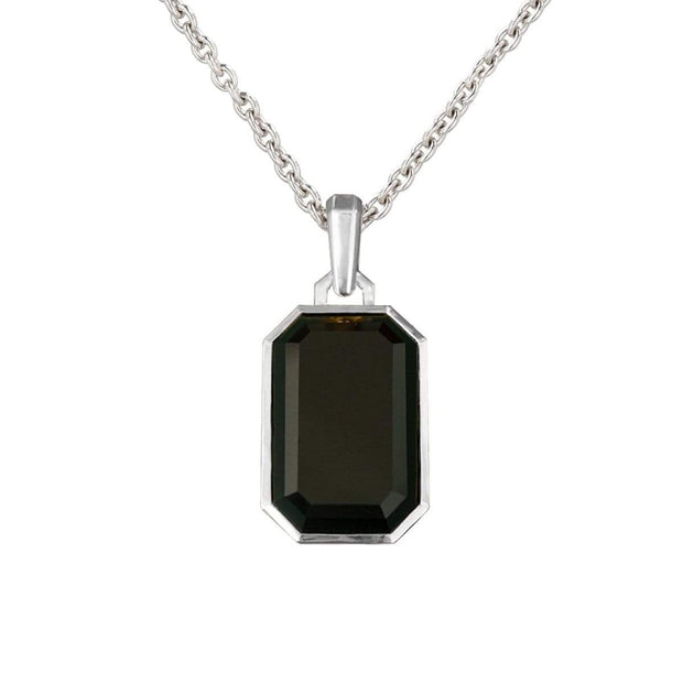 Adore Adorn Necklace Black Onyx Pendant