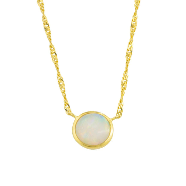 Adore Adorn Necklace Earth's 5 Layer Opal Necklace