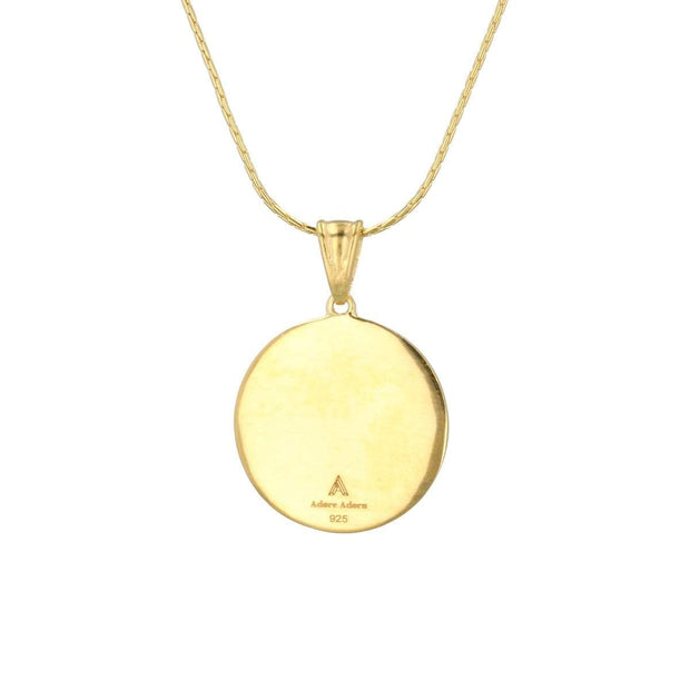 Adore Adorn Necklace Gold Reava Coin Necklace - Gold