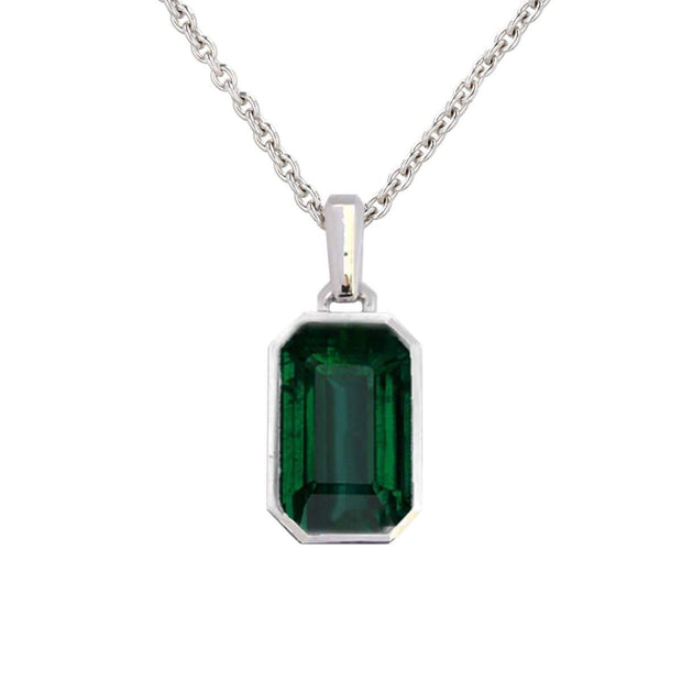 Adore Adorn Necklace Green Quartz Pendant