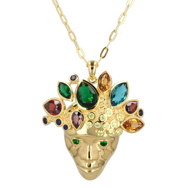 King of Kings Necklace in Gold