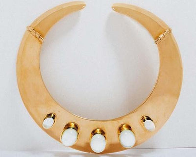 Adore Adorn Necklace Myrtle Collar (Mother of Pearl)