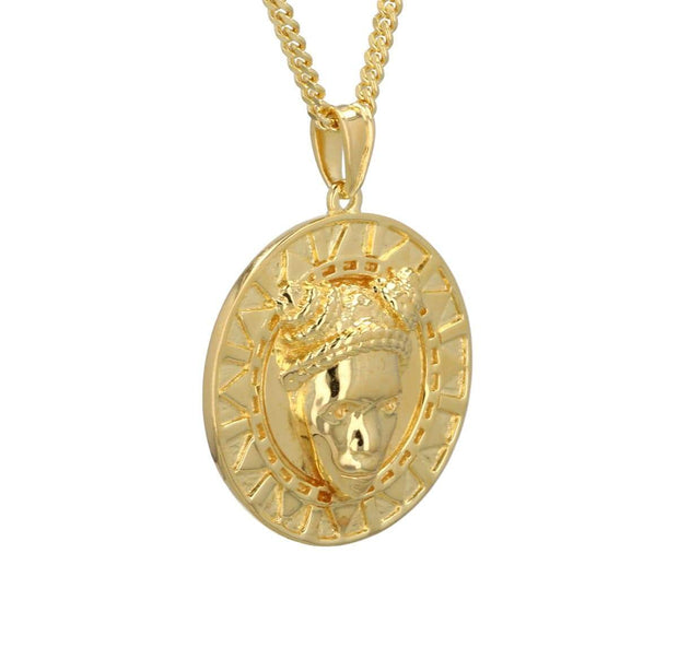 Adore Adorn Necklace Reava Pendant - 14K Gold + Gold Vermeil Options