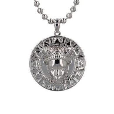 Reava Pendant in Rhodium
