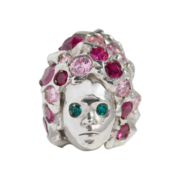 Adore Adorn Ring 6 / Pink Mystic Topaz Missy Ring – Silver