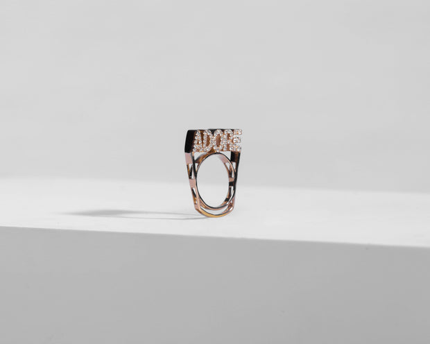 Adore Adorn Ring 6 Rose Gold - Adore Stackable Ring