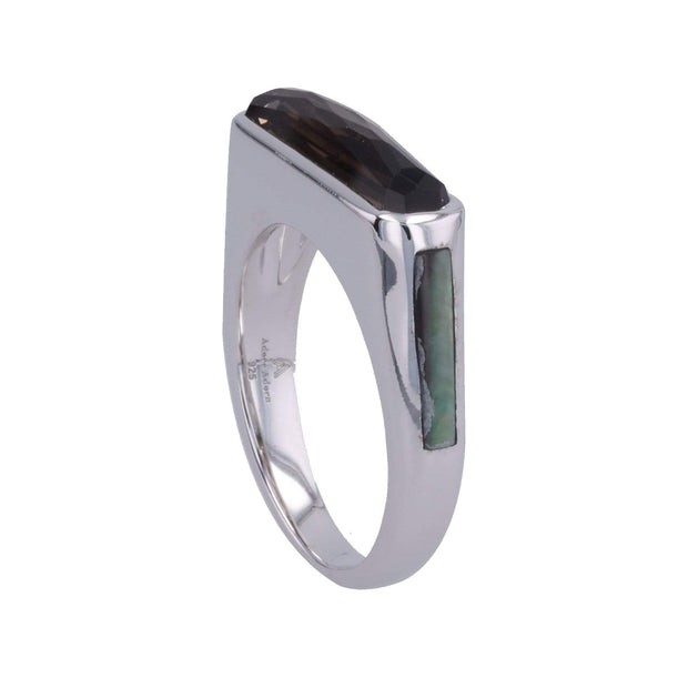 Adore Adorn Ring Excellence Side Band Gem Ring