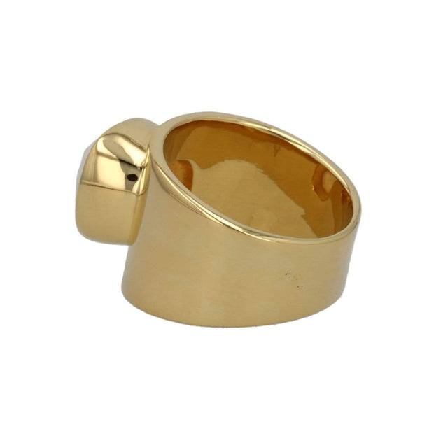 Adore Adorn Ring Lilly Ring - Mother Of Pearl / Gold Vermeil