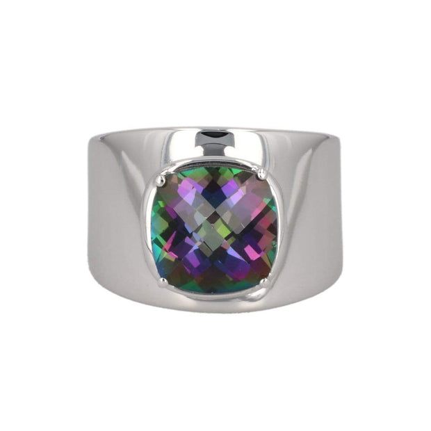 Adore Adorn Lilly Ring – Silver / Mystic Topaz