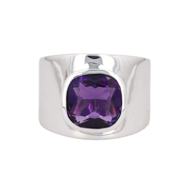 Adore Adorn Lilly Ring – Silver / Amethyst