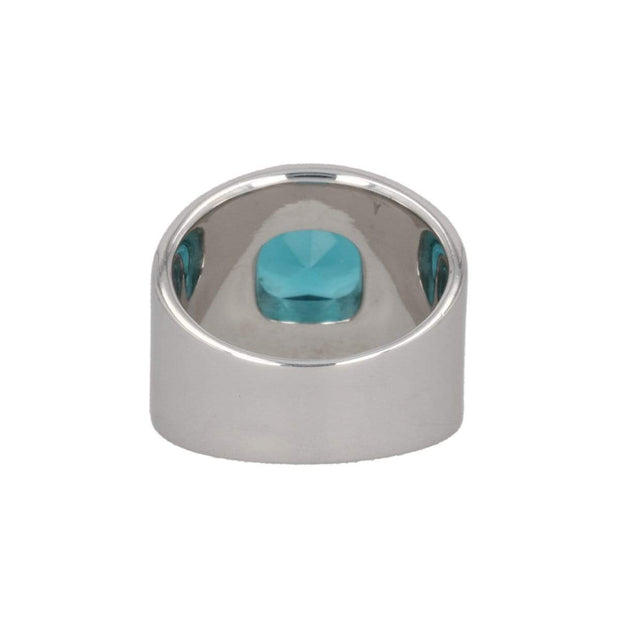 Adore Adorn Ring Lilly Ring - Silver / London Blue