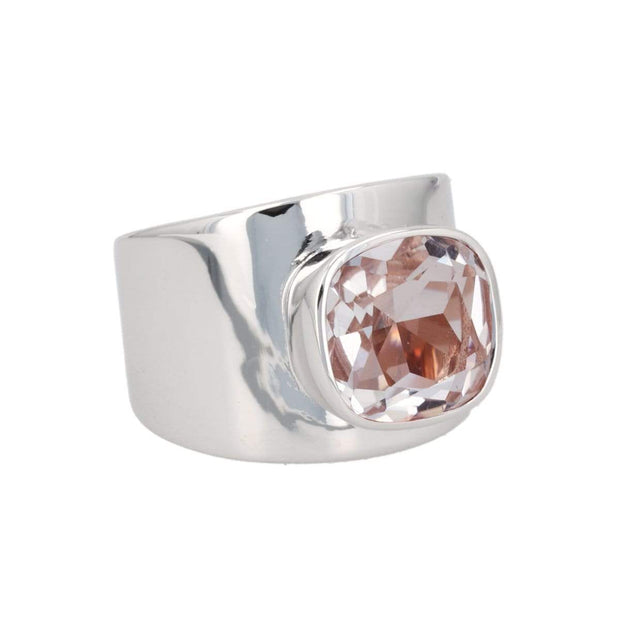 Adore Adorn Ring Lilly Ring - Silver / Pink