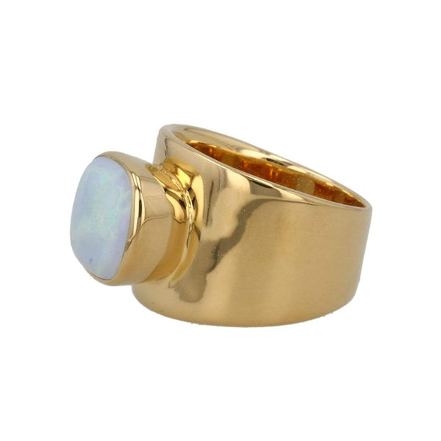 Adore Adorn Ring Lilly Ring - Sterling Opal / 14K Gold
