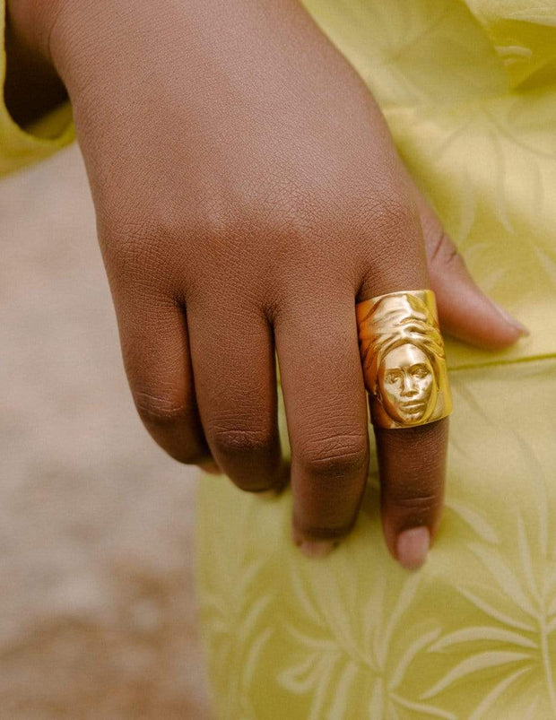 Adore Adorn Ring Maya Ring in Gold