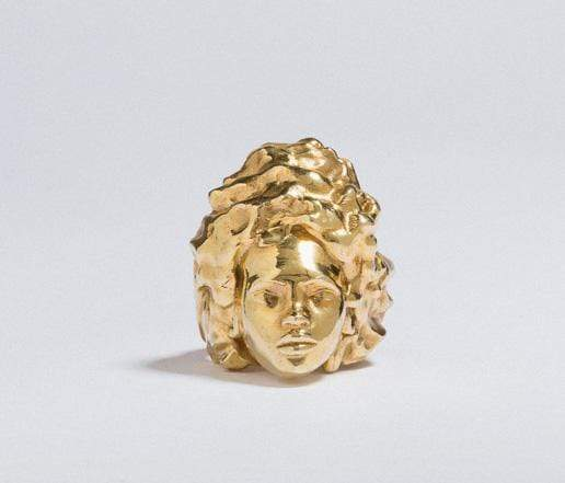 Adore Adorn Ring Missy Ring in Gold Vermeil