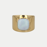 Adore Adorn Ring Opal / Polished Gold / 925 Silver Lilly Ring (Personalized)