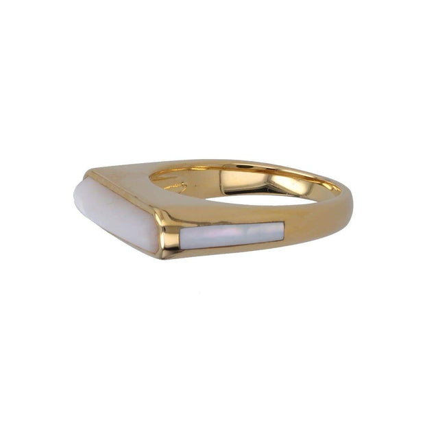 Adore Adorn Ring Percy Side Band Gem Ring