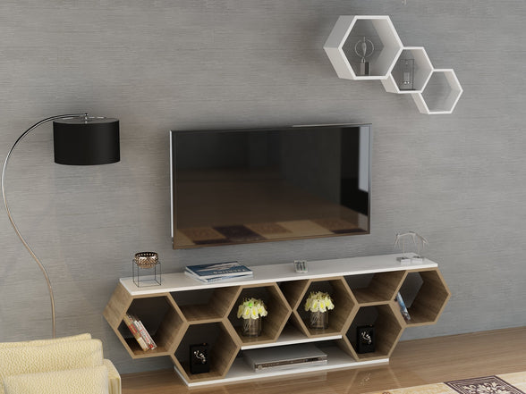 How should be the TV stand?