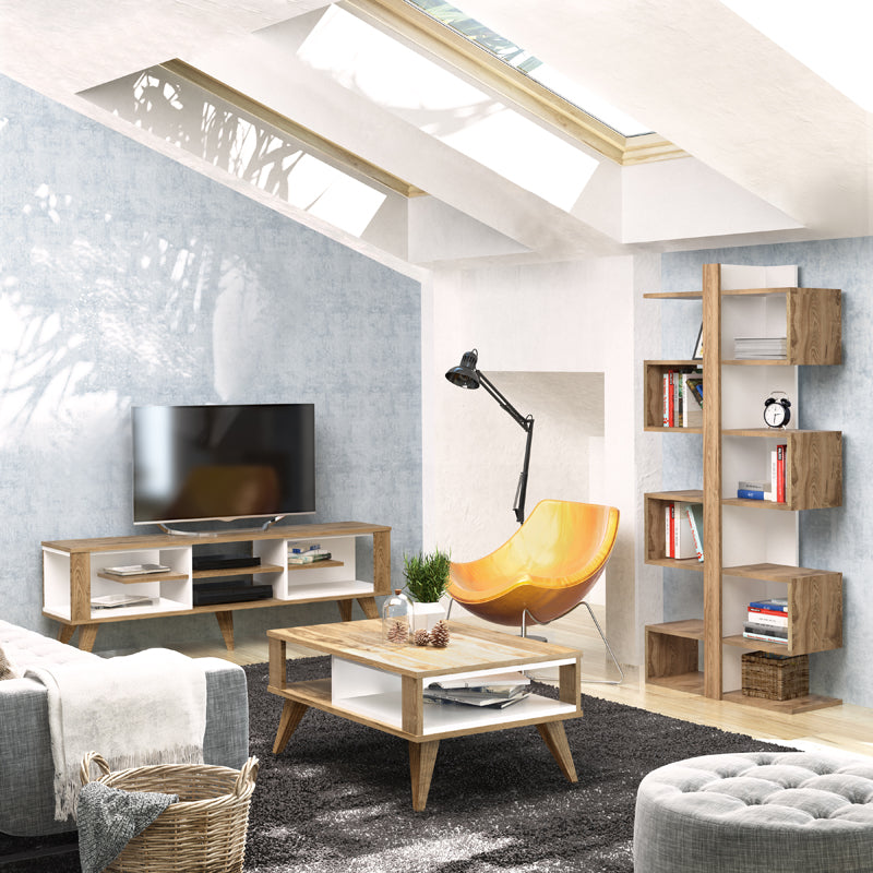 Ionis collection, TV stand, bookcace, coffee table