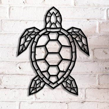 Turtle Transparent Handmade Metal - Decorotika