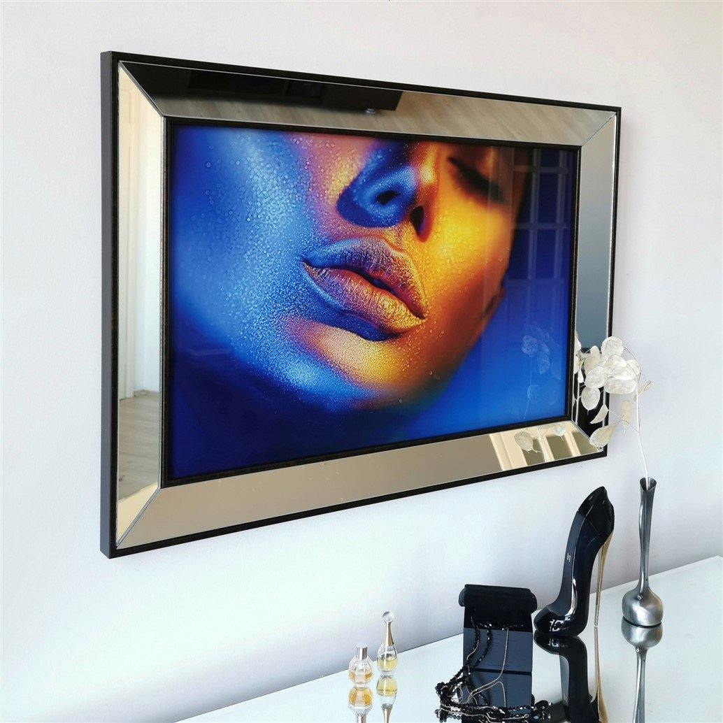 Lips Mirror Enhanced Modern - Decorotika