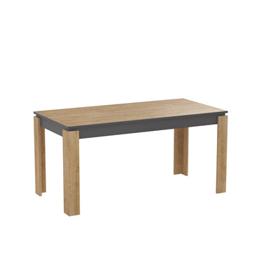 "Manhattan 63"" Wide Dining Table - Decorotika"