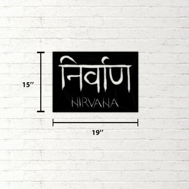 Nirvana Sign Handmade - Decorotika