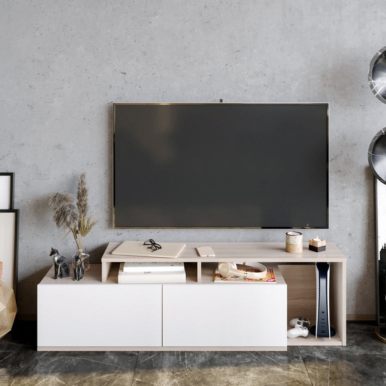 "Nexera 47"" Wide TV Stand and Media Console - Decorotika"