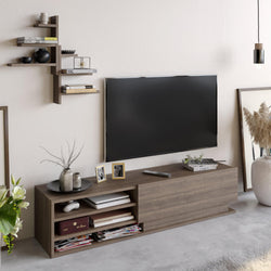 "Linda TV Stand and Media Console for TVs up to 67"" - Decorotika"