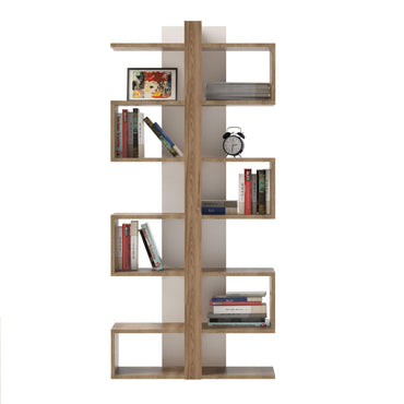 Ionis 67'' Tall Geometric Bookcase - Decorotika