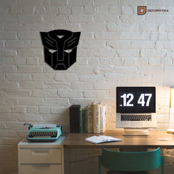 Autobot Sign Metal Decorative Wall Art - Decorotika