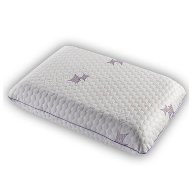 Ametist Neck Support Serene Memory Foam Standard Pillow - Decorotika