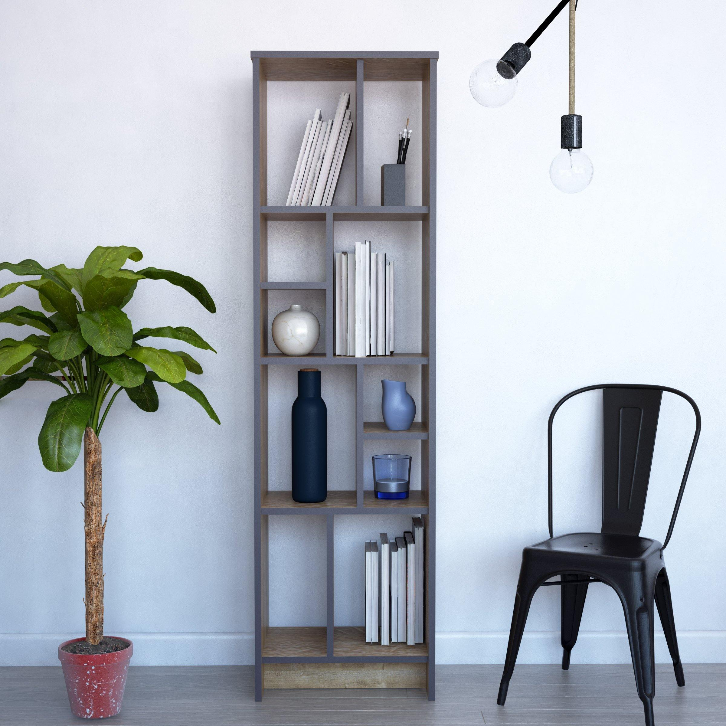 Manhattan 69'' Tall Accent Bookcase - Decorotika