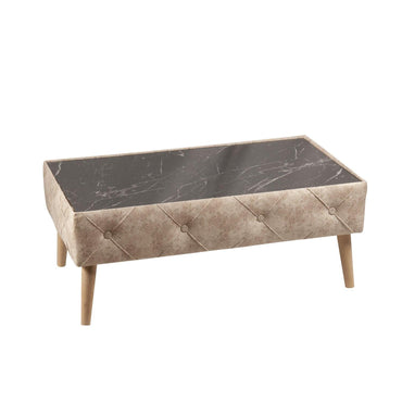 Rectangular Ottoman Coffee - Decorotika