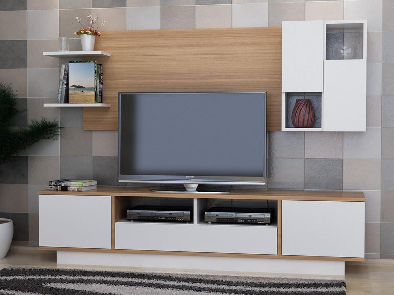 Decorotika Luisa 71'' TV Stand & Entertainment Center - Decorotika
