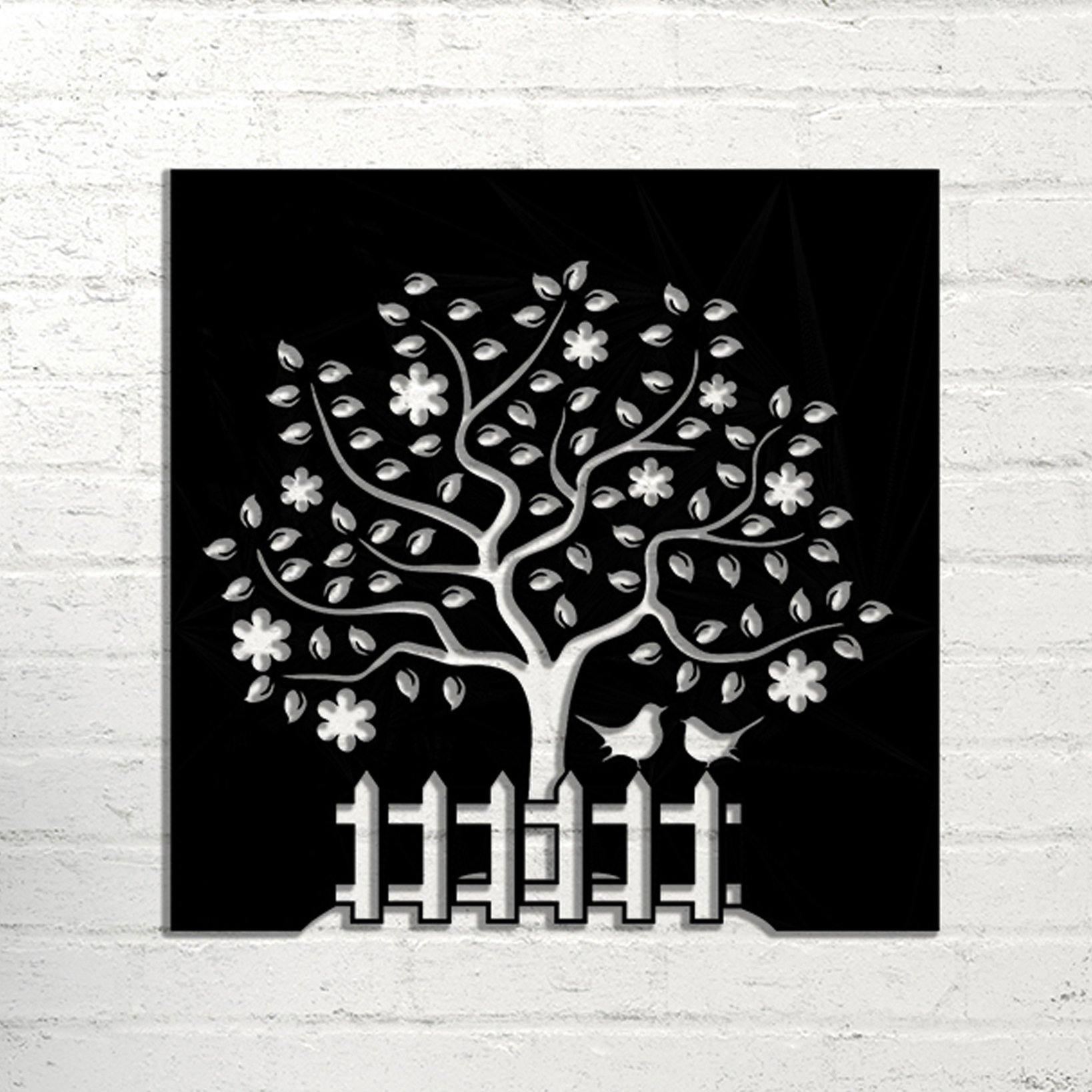Tree Handmade Metal Wall Art - Decorotika