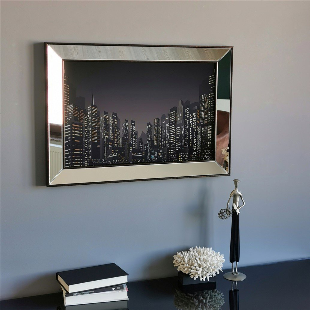 Big City Mirror Enhanced - Decorotika