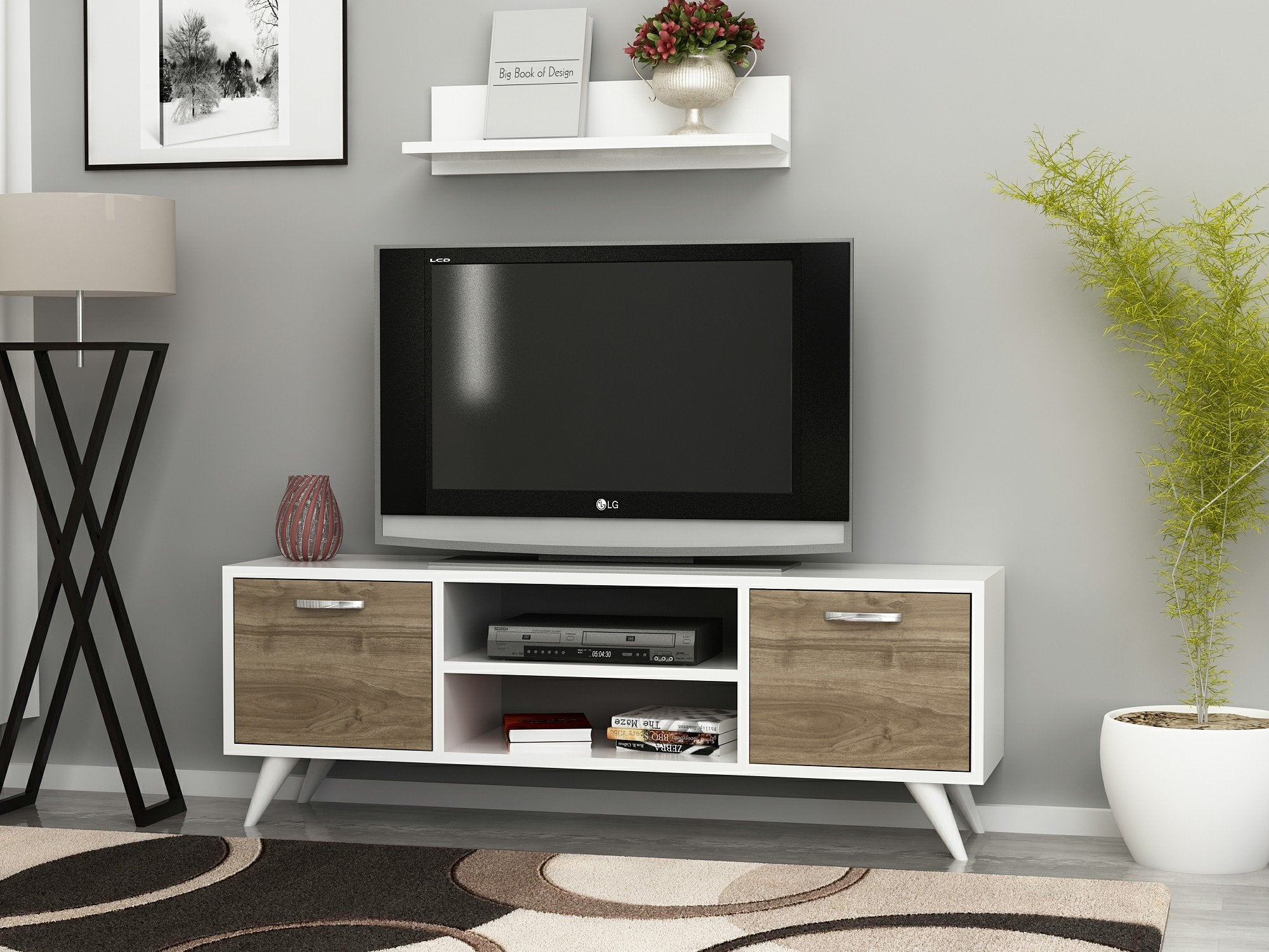 Bella 47''  TV Stand & Media Console - Decorotika